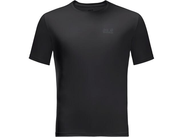 Jack Wolfskin Tech T-shirt Heren, zwart